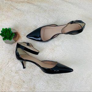 9646893b73b J. Crew Dulci Patent Ankle Strap Kitten Heels